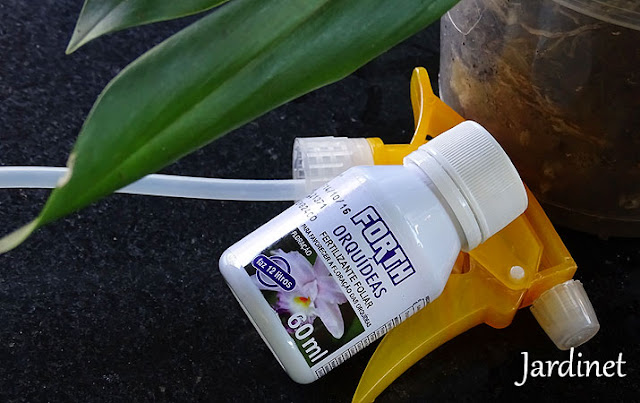 Forth Jardim manutenção adubo foliar para orquídeas