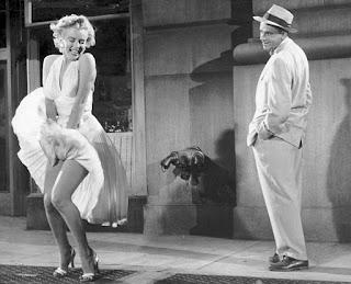 Escena vestido blanco Marilyn Monroe