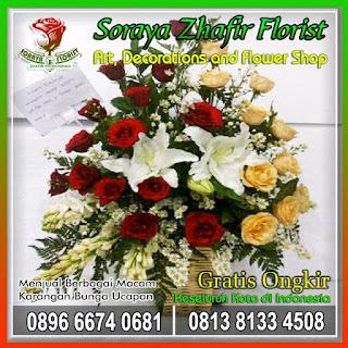 toko jual karangan bunga ucapan di jakarta