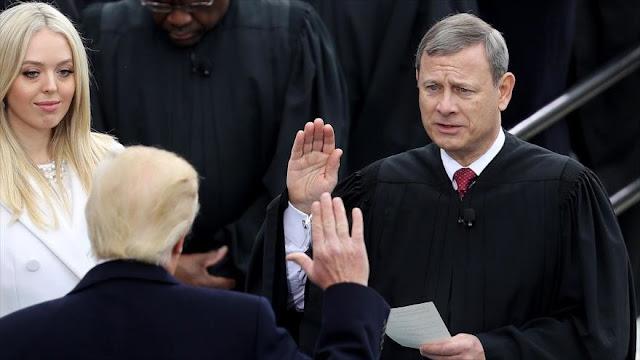 Trump critica a activistas promigrantes y carga contra jueces