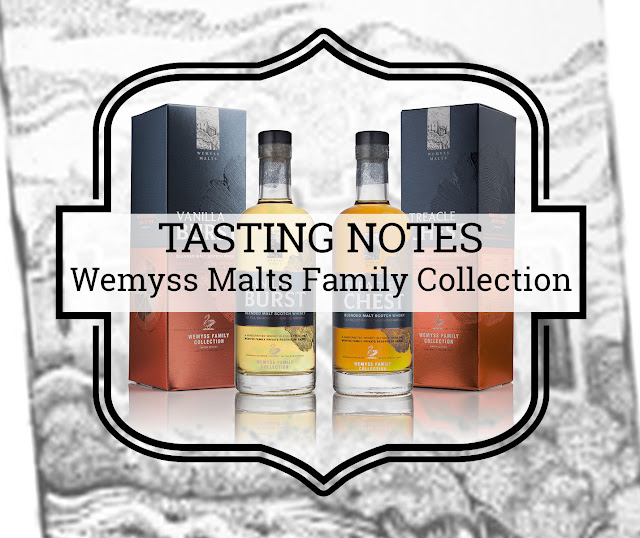 Tasting notes Wemyss Malts Family Collection - Vanilla Burst & Treacle Chest