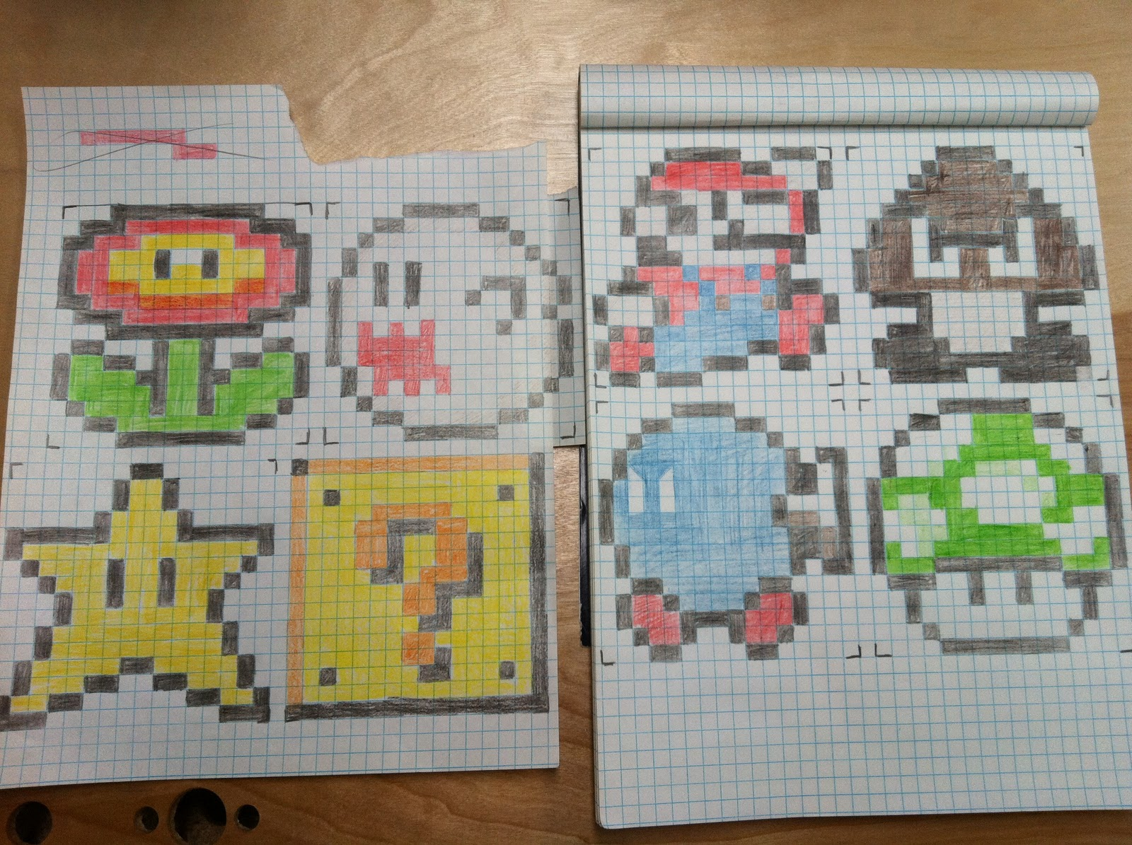 The Contemplative Creative: 8-bit Cross Stitch