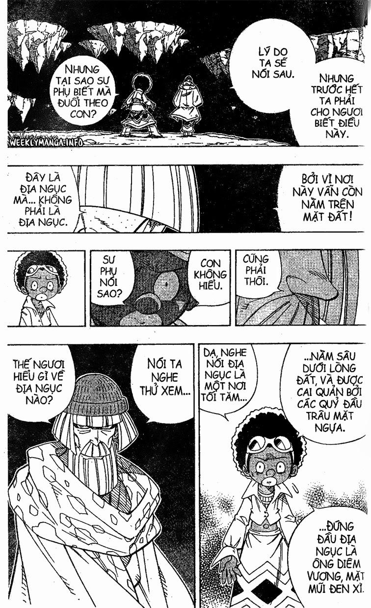 Shaman King [Vua pháp thuật] chap 194 trang 14