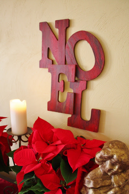 Pottery Barn Inspired NOEL sign tutorial by Sand & Sisal