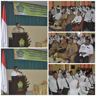 Diklat Prajabatan Honorer K1, K2 Kemenag Provinsi Maluku