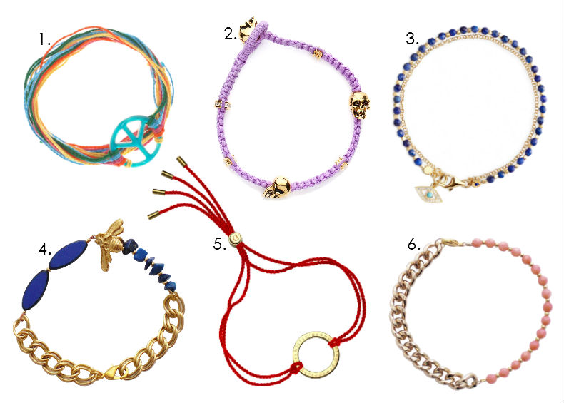 Six Of The Best Friendship Bracelets For Ss12 Beyond