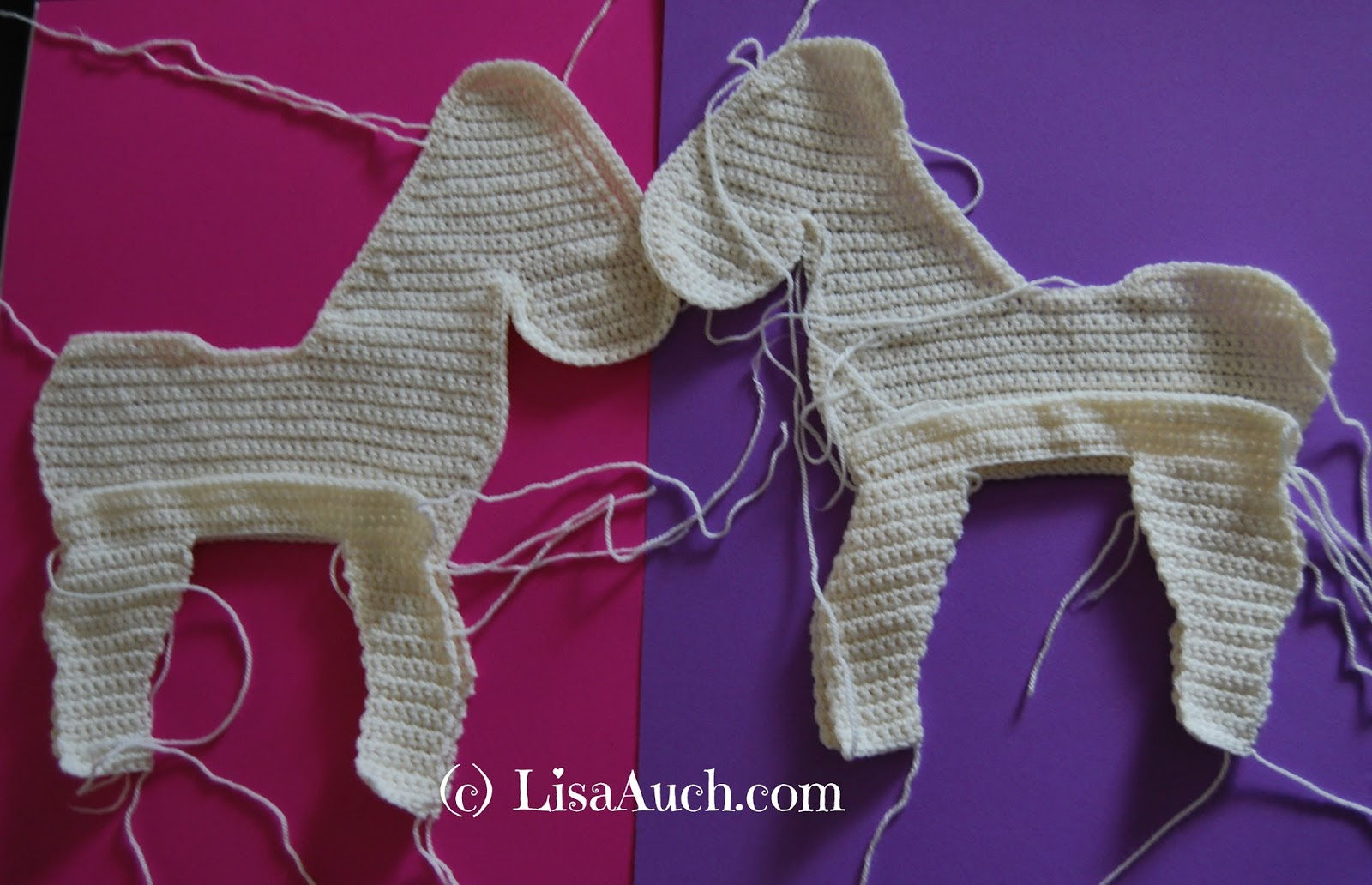 How To Crochet a Horse A free Crochet Horse Pattern ...