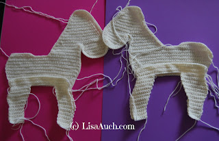 crochet horse free pattern