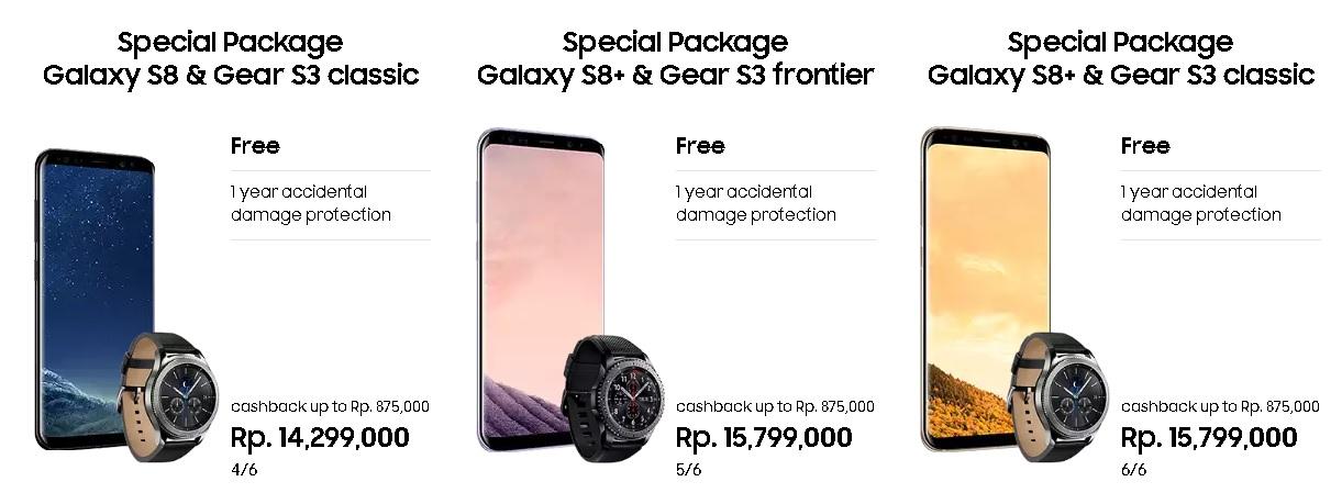 Promo Pre-Order Samsung Galaxy S8 dan S8 Plus