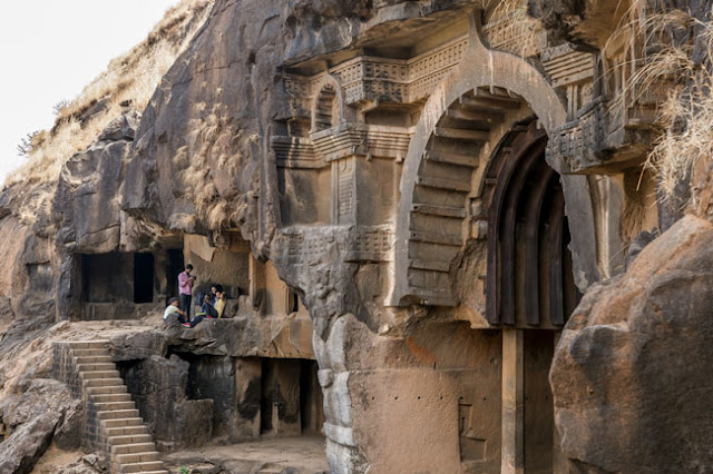 bhaja buddhist caves lonavala maharashtra Chaityagraha