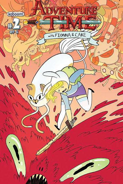 Ghettomanga Quick Review Adventuretime With Fiona And