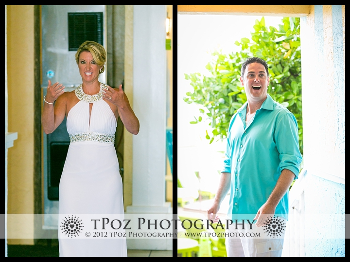 Key West Destination Wedding Ocean Key Resort First Look
