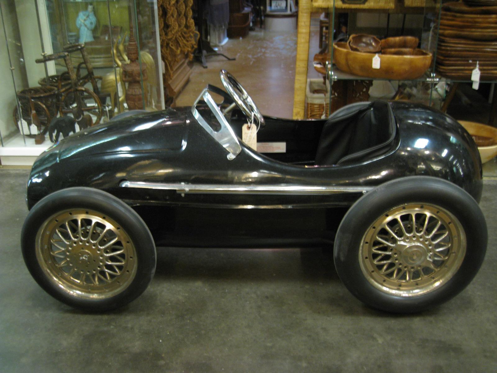gannon 39 s antiques art alfa romeo one of a kind metal car. Black Bedroom Furniture Sets. Home Design Ideas