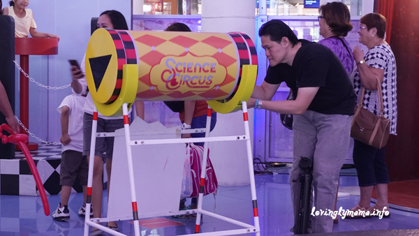 Science Circus - Robinsons Place Bacolod - The Science Museum - selfiekaleidoscope
