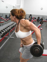 Female bodybuilding I just want to be fit