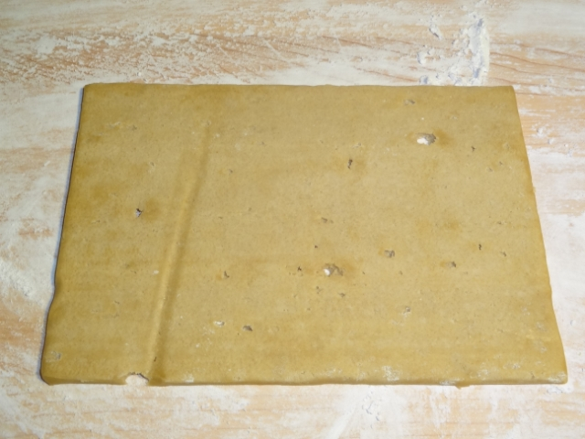 Sugar cookie, dough sheet, cutting board,