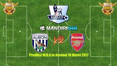 AGEN BOLA - Prediksi W.B.A vs Arsenal 18 Maret 2017