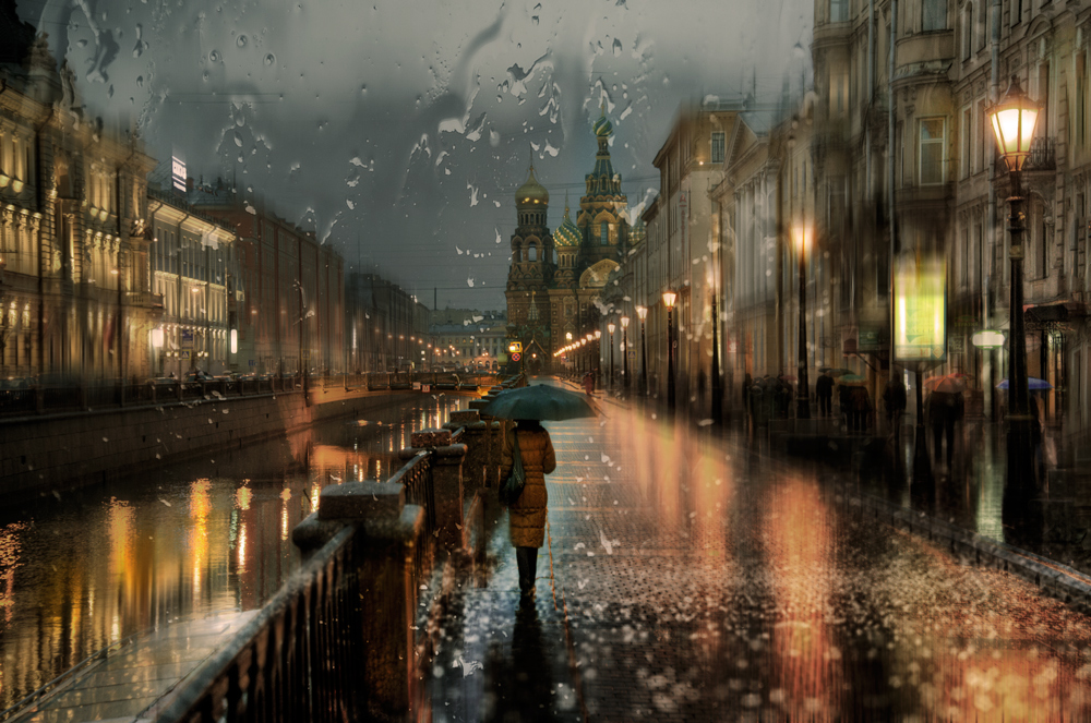 17-Eduard-Gordeev-Гордеев-Эдуард-Photographs-in-the-Rain-that-look-like-Oil-Paintings-www-designstack-co