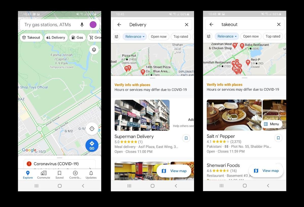 Google Maps Screenshot via Digitalinformationworld
