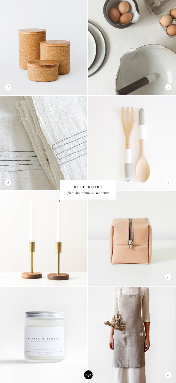 GIFT GUIDE: Modest hostess | My Paradissi #handmade #gifts #etsy