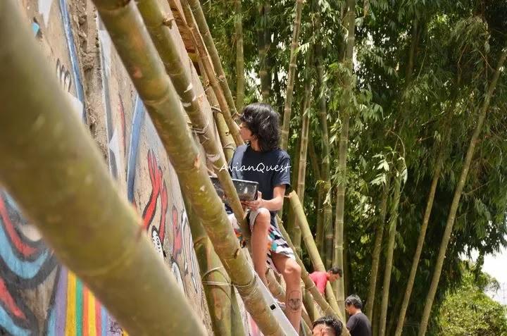 Tamawan Village Making of a Graffitti Mural Baguio City Philippines 60