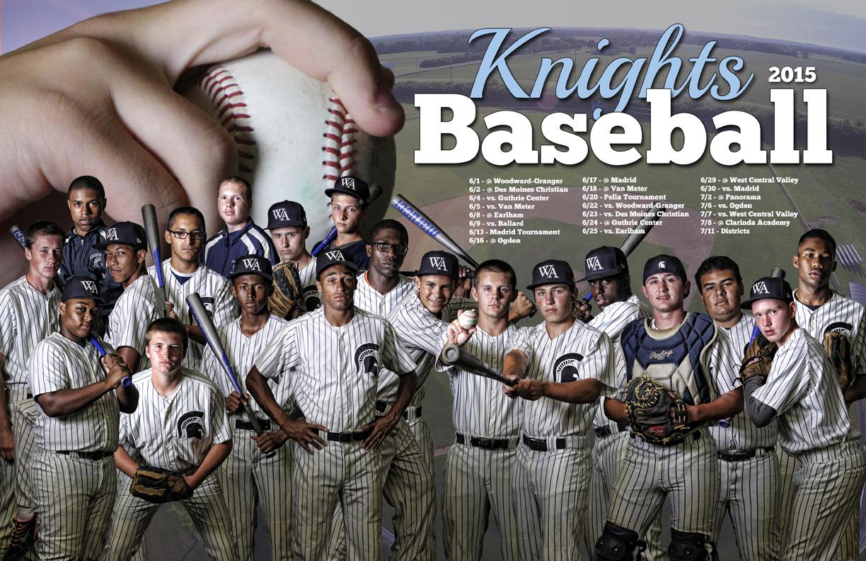 Baseball Poster 2015 Woodward Academy