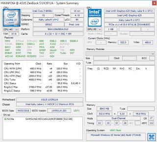spesifikasi sistem motherboard CPU GPU