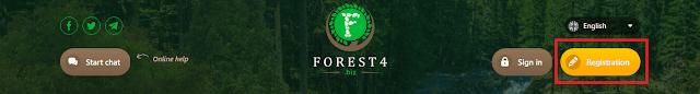 Регистрация в инвестиционном фонде forest4 biz