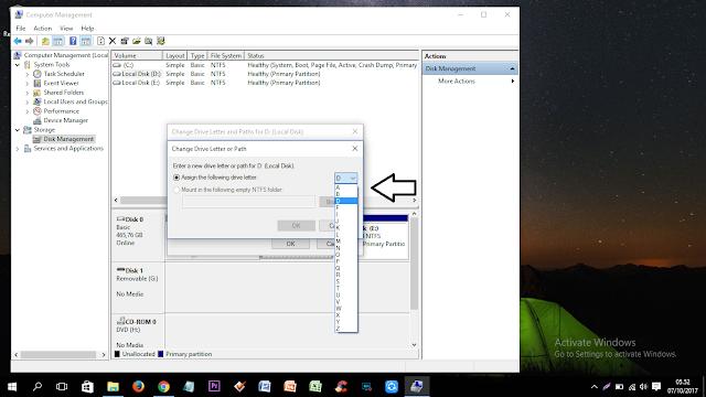 7 Langkah Cara Merubah Nama Local Disk D, E, F, G, H dst Pada Windows 10