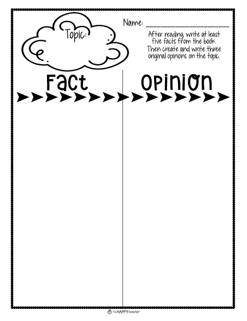 Fact or Opinion lesson activity