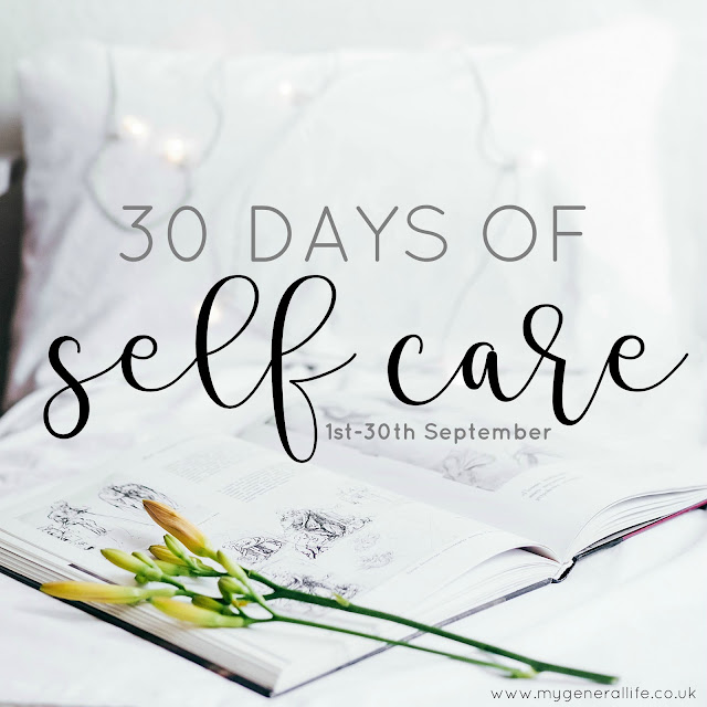Through September I'll be sharing 30 days of self care via my social media and email list - head here >> http://eepurl.com/bgqIWD to sign up now!!