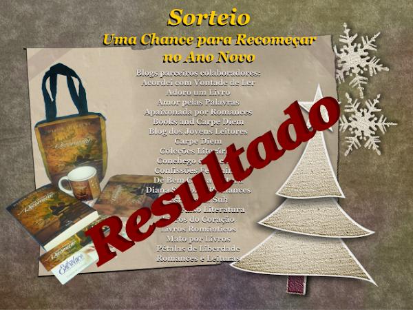 """Resultado do Sorteio """"Uma chance para recomeçar no Ano Novo"""""""