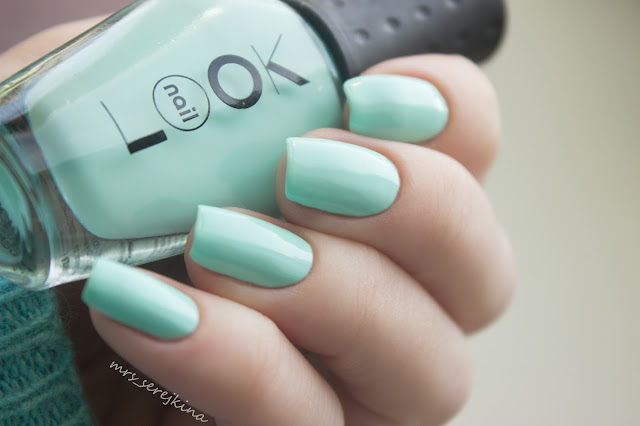 nailLOOK Baby Mint