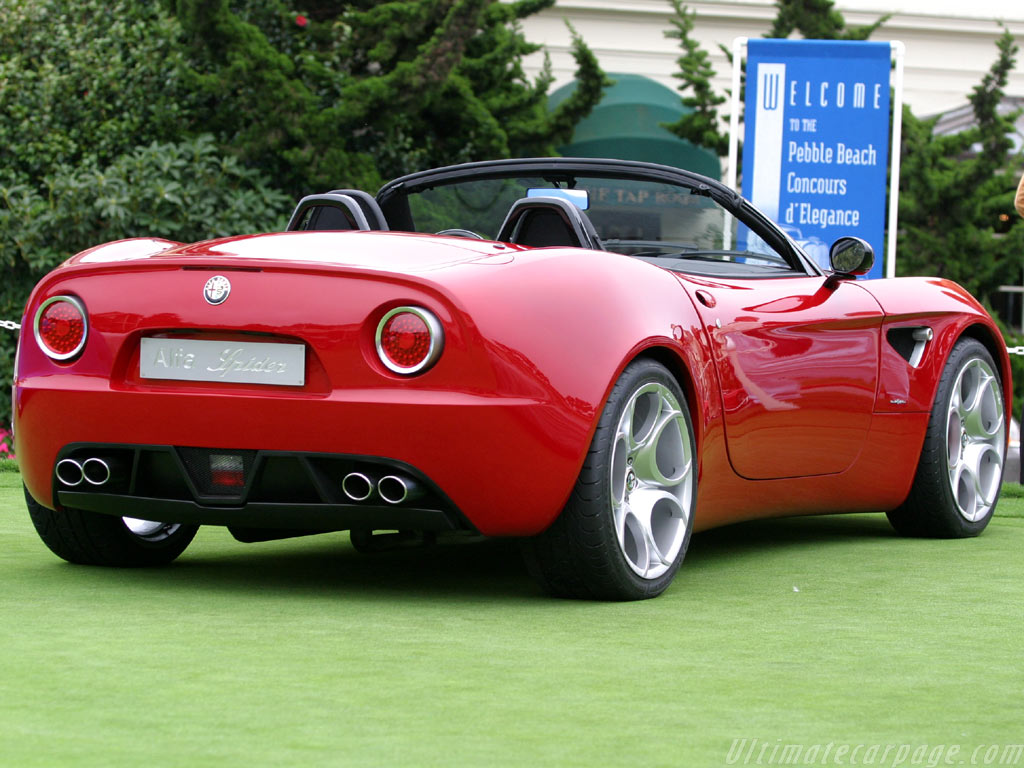 International Fast Cars: Alfa Romeo 8c Spider