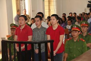 Xét xử nhóm đối tượng tuyên truyền chống phá Nhà nước CHXHCN Việt Nam