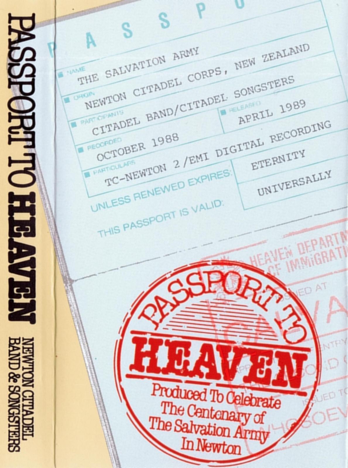 Passport to heaven (salvation)