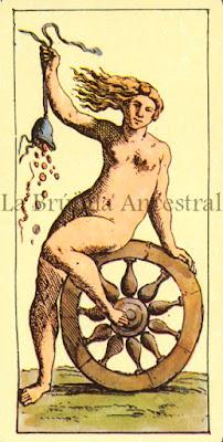 Tarot de Mitelli: La Rueda