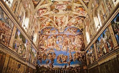 Resultado de imagem para tecto capela sistina