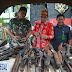 Danrem 102/Pjg Pimpin Pemusnahan 144 Senjata Api Ilegal