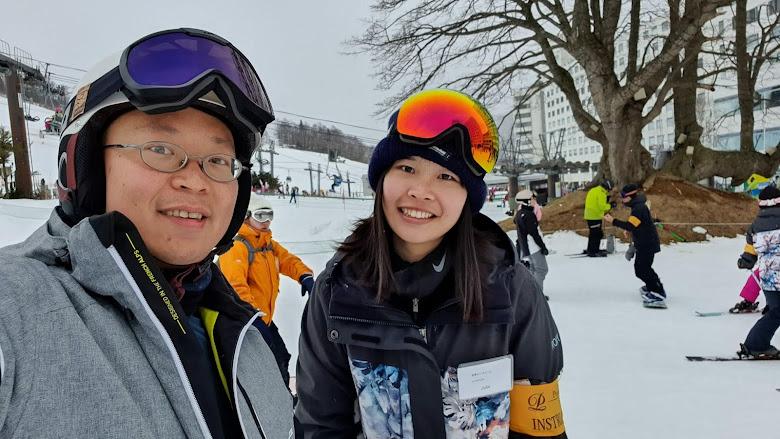 滑雪教練與我