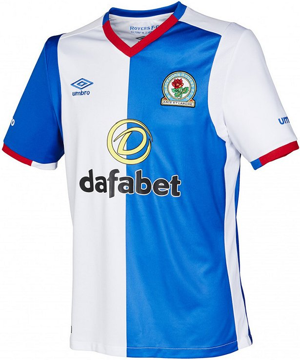 Umbro divulga novas camisas do Blackburn Rovers - Show de Camisas 13db6aac503aa