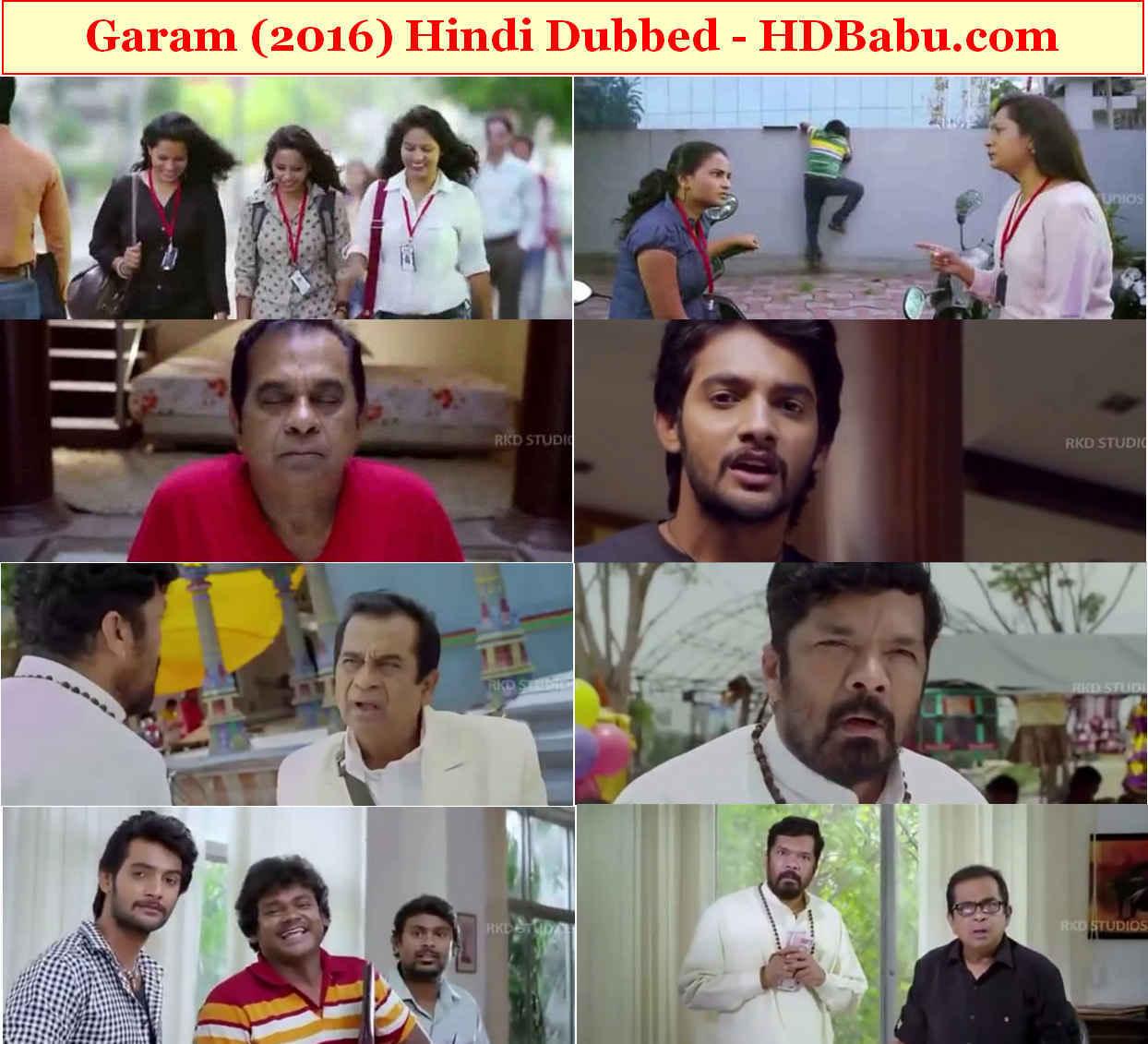 Garam Hindi Dubbed Full Movie Download