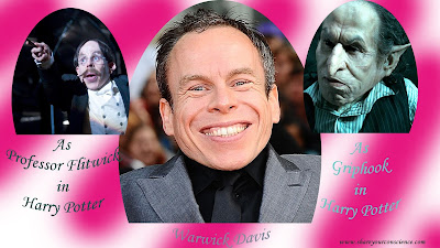 Warwick Davis as Griphook and Flitwick