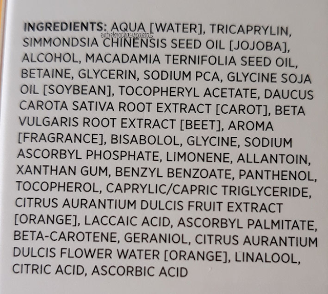 ingredientes aceite bifasido anne marie borlind
