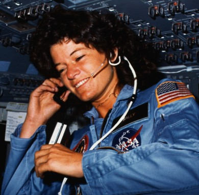Sally Ride - First Amerian Woman in Space | Nonstop 80s