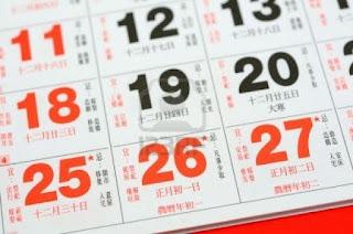 Kilas Kalender Lunisolar kalender imlek