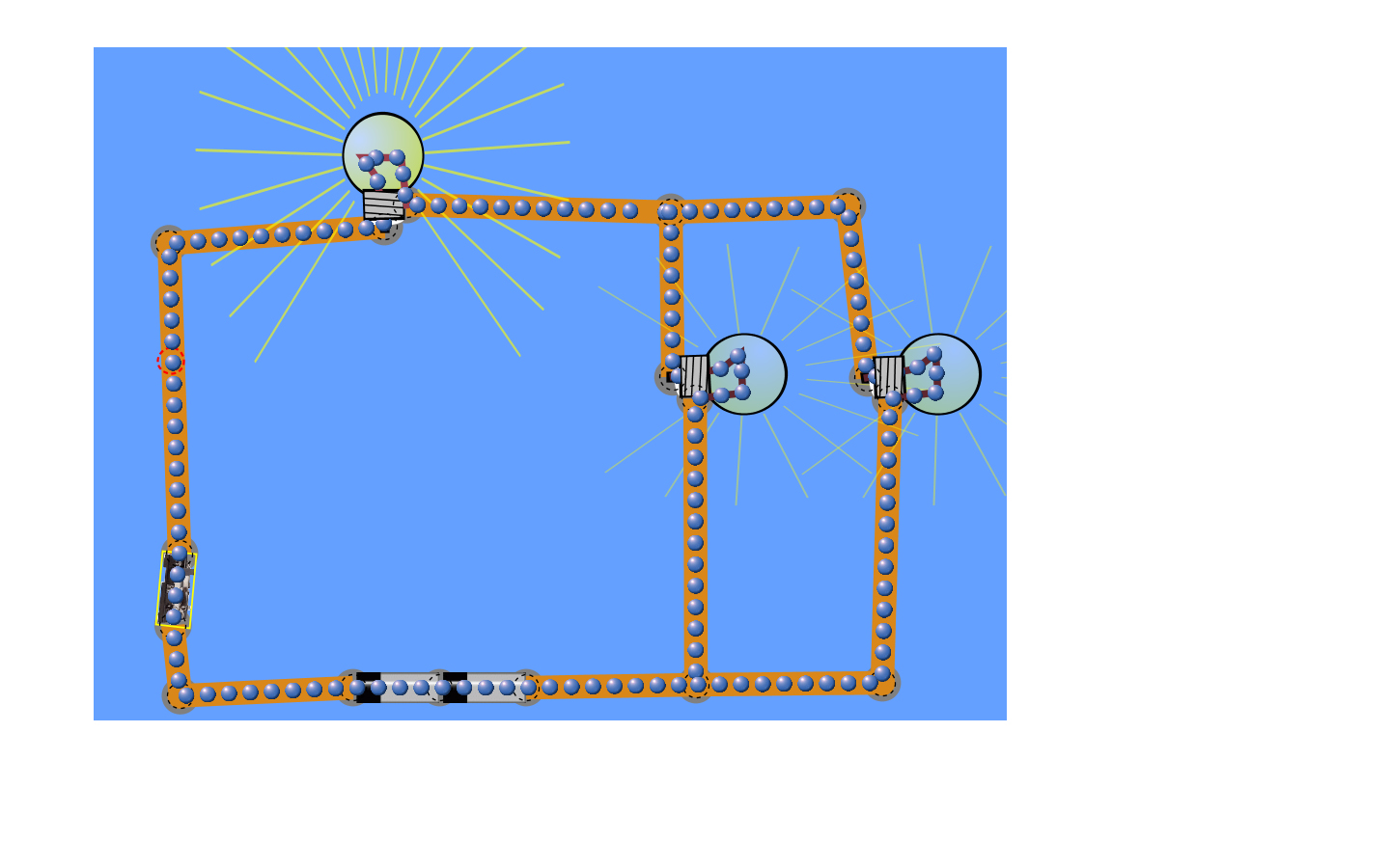 small resolution of combination circuits have both series and parallel circuits the total resistance is found from finding the total resistance of each section