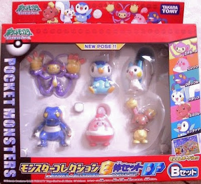 Pachirisu figure Takara Tomy Monster Collection DP 6pcs figures B set