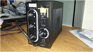 Вид сзади ИБП APC BX650CI-RS