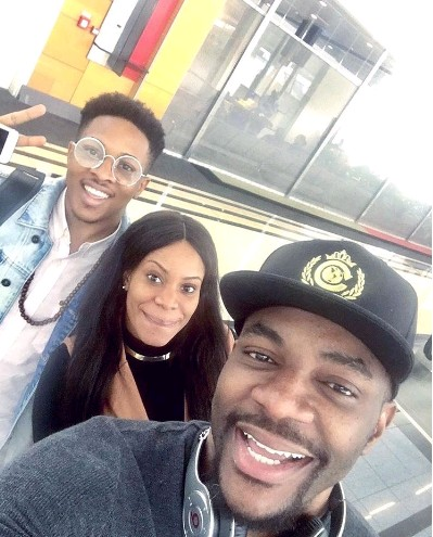 Housemates Jon and Ese arrive Nigeria